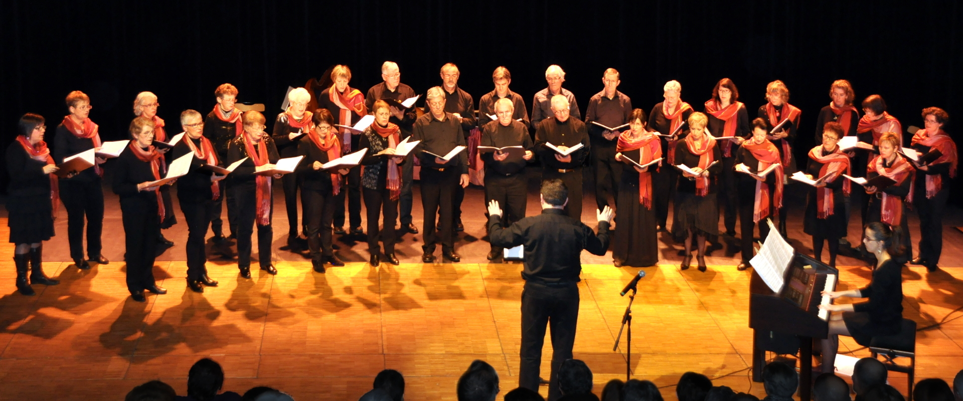 Grand chœur à la Passerelle 2015