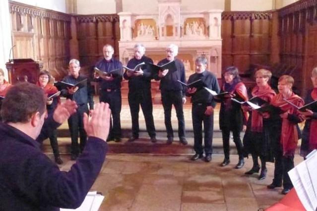 LA FORET SUR SEVRE Concert Alauda église 2501 - 1